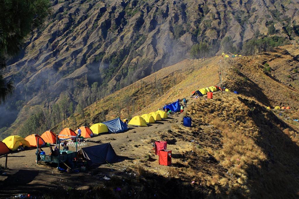 Gunung Rinjani Selalu Jadi Incaran Para Pendaki
