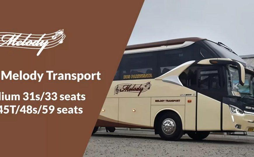 Melody Transport, Sewa Bus Pariwisata Terpercaya di Tangerang