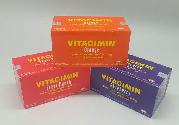 Manfaat Vitacimin dan Harga per Strip dan Dus