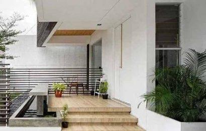 Desain Teras Rumah Minimalis Sederhana Simpel